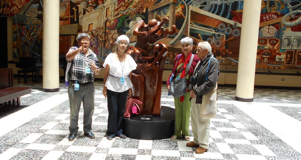 VIAJE AL XIII CONGRESO CENTROAMERICANODE HISTORIA EN TEGUCIGALPA, HONDURAS