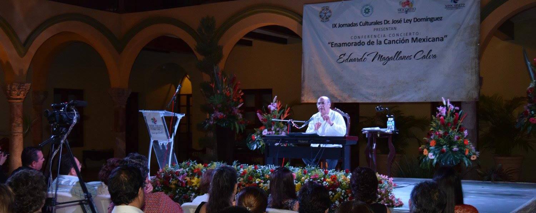 Enamorado de la canción mexicana. Eduardo Magallanes Calva