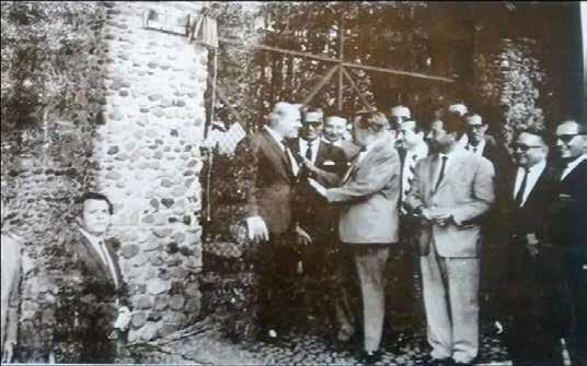 Calzada de Los Compositores y Calzada de Los Actores Inauguración en Cuernavaca 1967