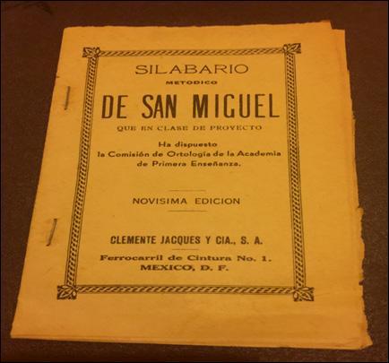 El Silabario de San Miguel