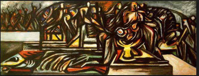 Pollock en el Kunts Museum de Basel,Suiza