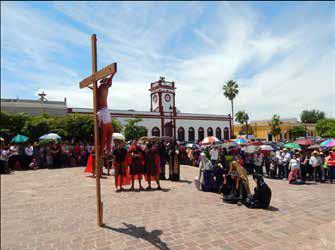 SEMANA MAYOR, LA FÉ DE NUESTRO PUEBLO MÁGICO. La Semana Santa es la fiesta religiosa más celebrada en nuestro país.