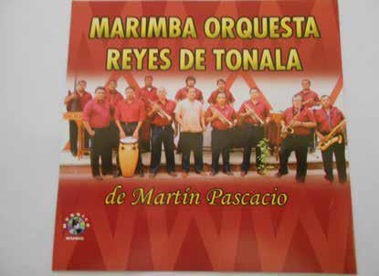 "FRANCISCO MARTIN PASCACIO GONZALEZ. ( 1967- )DIRECTOR DE LA MARIMBA ORQUESTA ""REYES DE TONALÁ""."