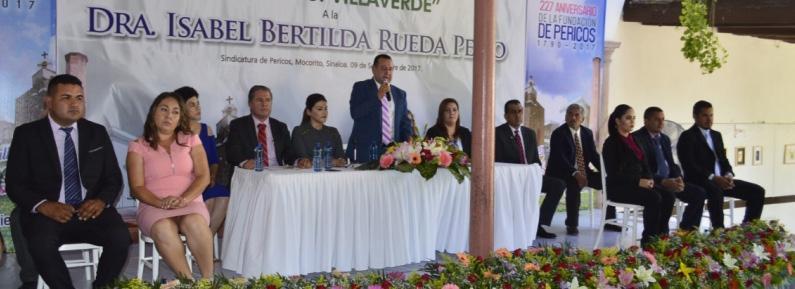 11 va. Entrega de la medalla «Gabriel G. Villaverde» 2017. Pericos, Mocorito.