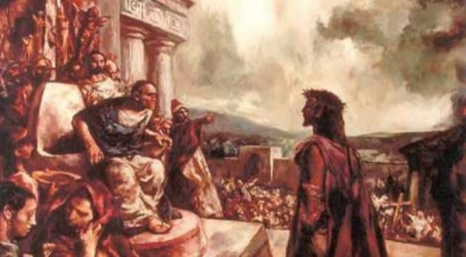 """El Proceso de Jesús """"Fue la más grande y la más  memorable de las injusticias."""" GIOVANNI ROSADI"""