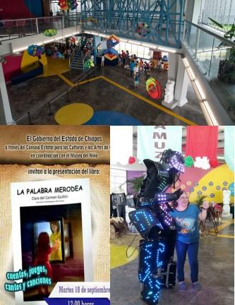 1ª. FERIA DEL LIBRO INFANTIL Y JUVENIL DEL MUSEO DEL NIÑO DE TUXTLA GUTIÉRREZ