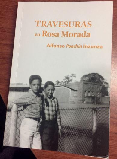 PONCHÍN EL TEMERARIO COMENTARIOS AL LIBRO TRAVESURAS DE ROSA MORADA, DE ALFONSO PONCHÍN INZUNZA