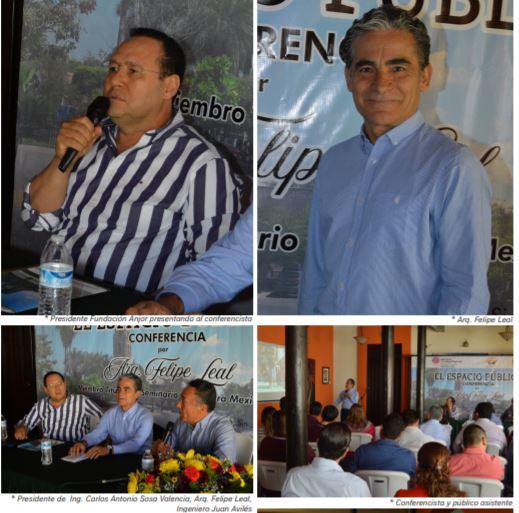 CONFERENCIA, EL ESPACIO PÚBLICO. ARQUITECTO FELIPE LEAL