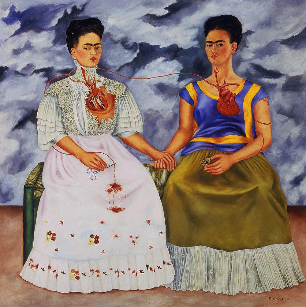 Frida Kahlo y Juan O´Gorman                  Memorias